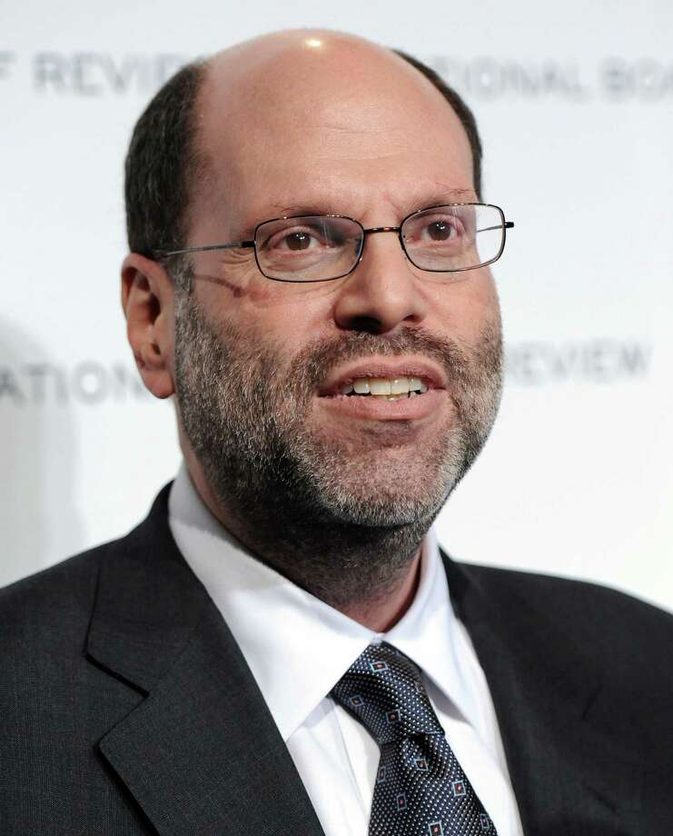 """FILE - In this Jan. 11, 2011 file photo, producer Scott Rudin attends The National Board of Review of Motion Pictures awards gala at Cipriani's 42nd Street in New York. Rudin, the high-powered producer at the center of the latest embarrassment stemming from the Sony hacking scandal, has apologized for remarks he made in leaked emails. In the series of private emails obtained by Gawker and Buzzfeed this week, Rudin, corresponding with Sony Pictures Entertainment co-chairman Amy Pascal, called """"Unbroken"""" director Angelina Jolie a """"spoiled brat"""" and made jokes about President Barack Obama's race and presumed taste in movies. (AP Photo/Evan Agostini, File) Photo: Evan Agostini, FRE / AGOEV"""