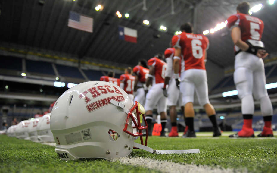The all-star games that have been a staple of the THSCA's conventions are a thing of the past because of a recent NCAA rule change. Photo: Robin Jerstad, Freelance