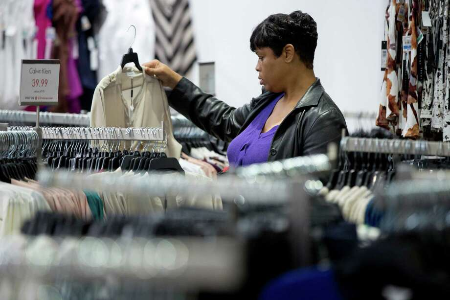 The Commerce Department said figures for October, released on Thursday, show that retail sales were up  0.7 percent, the most in eight months. Falling gasoline prices and deep discounts by retailers were cited. Photo: Matt Rourke, STF / AP