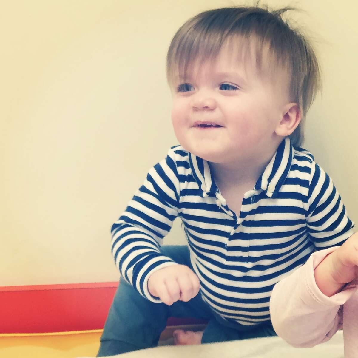 Cole, age 11 months