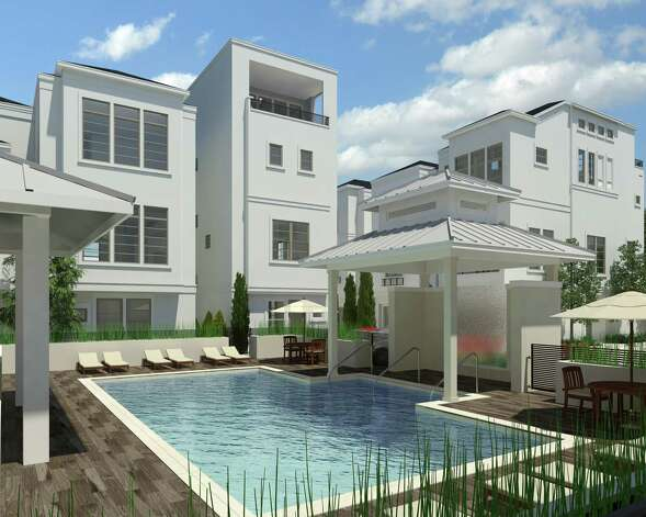 David Weekley Homes Model Features Rooftop Terrace