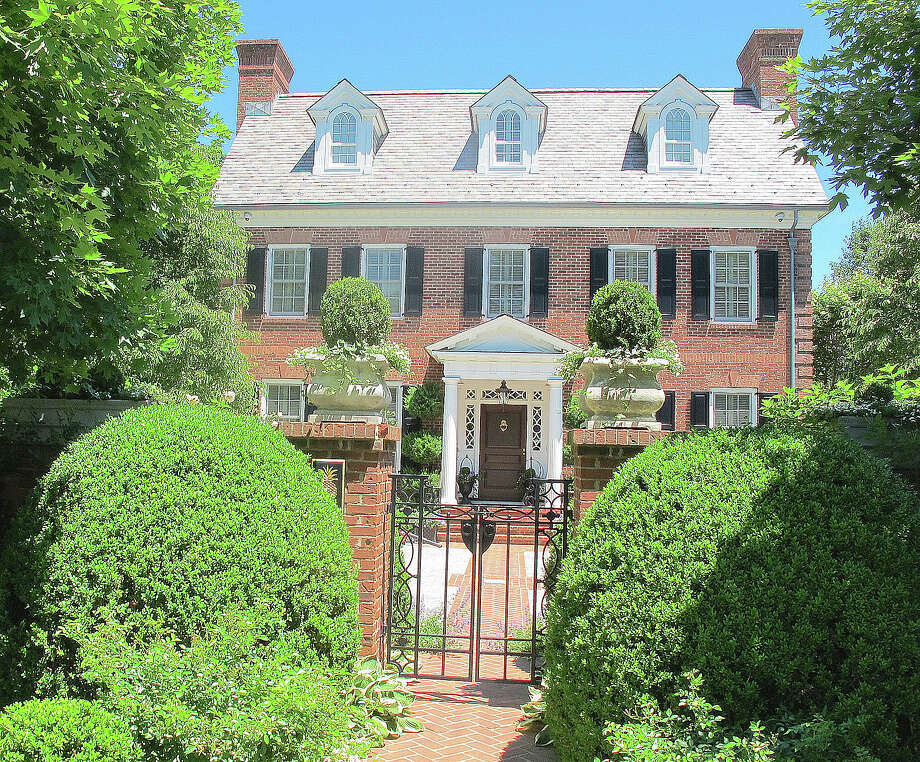 The property at 354 South Ave. is on the market for $4,950,000. Photo: Contributed Photo / New Canaan News