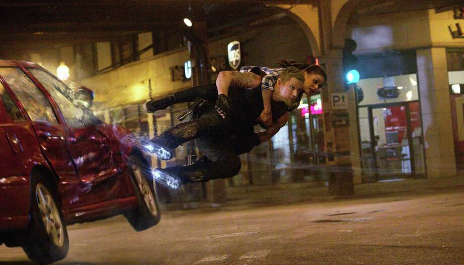 """Jupiter Ascending""Release date: Feb. 6Starring: Channing Tatum, Mila KunisThe Wachowskis are following ""Cloud Atlas"" with a space epic and places Mila Kunis in the leading role. The graphics and effects look great, but will viewers be able to make sense of the film's plot? Fingers crossed. Photo: Courtesy Of Warner Bros. Enterta, Courtesy Photo / ©2013  Warner Bros. Entertainment Inc."