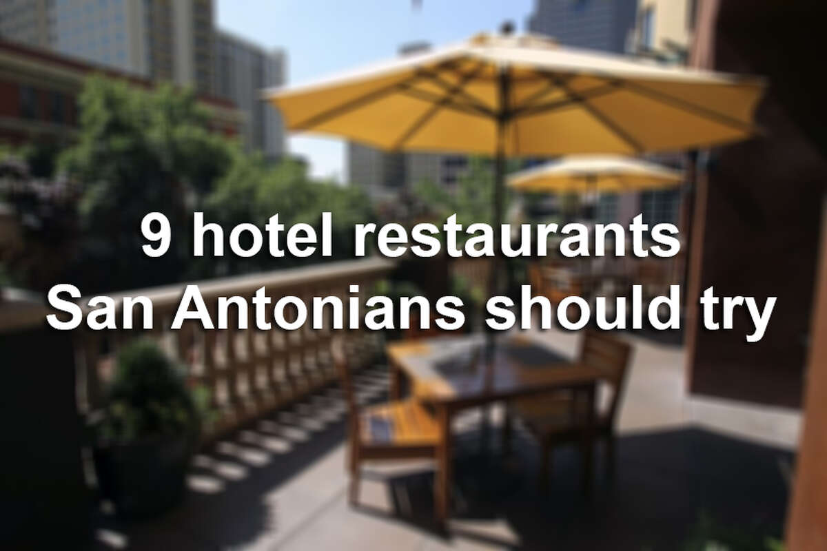 San Antonians may not get out to the River Walk or Hill Country much, or stay in the lavish hotels, but the restaurants here are not just for visitors. These nine eateries will make you want to be a tourist for a day.