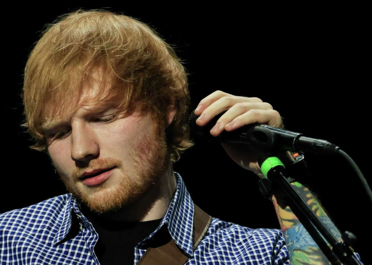 Ed Sheeran  AT&T Center, Aug. 22.