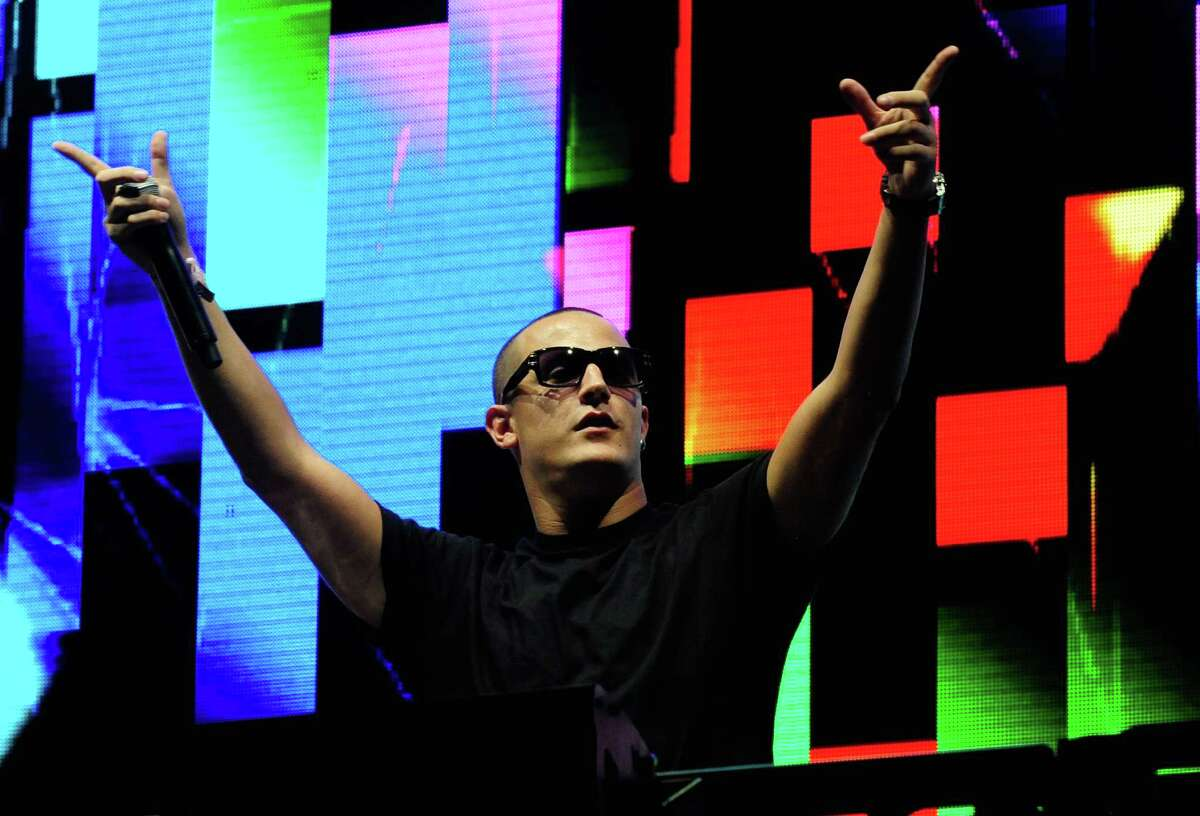 DJ Snake performs at the 18th annual Electric Daisy Carnival at Las Vegas Motor Speedway on June 23, 2014 in Las Vegas, Nevada.