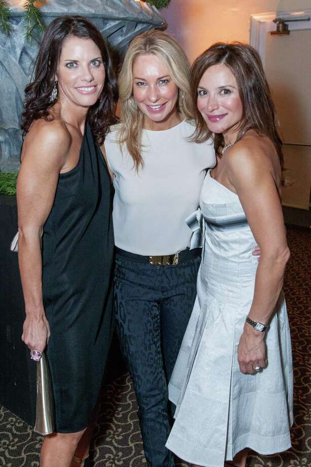 Diana Britt, Tiffany Cummins and Claudia Ross at the annual Jingle & Mingle fundraising event on December 4, 2014. Photo: Drew Altizer Photography/SFWIRE, Drew Altizer Photography / ©Drew Altizer Photography 2014