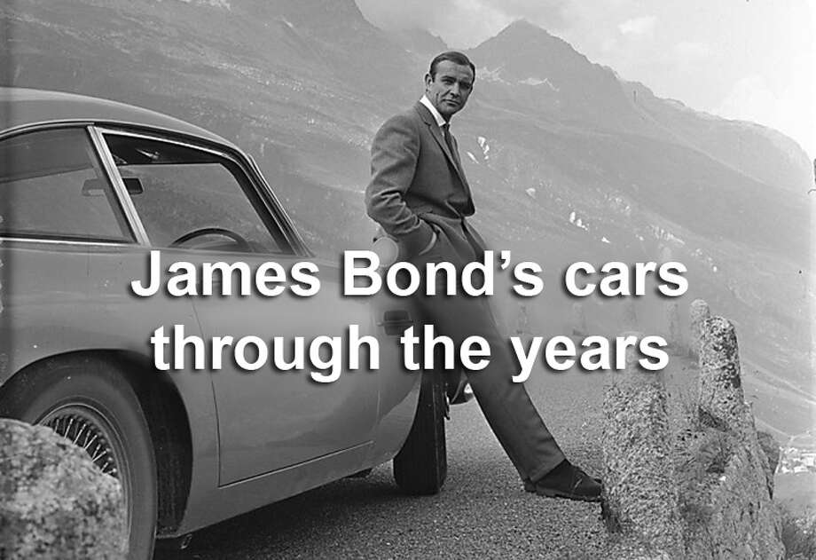 "The ""Goldfinger car,"" an Aston Martin DB5, is the car most closely associated with James Bond, but there have been many others.Click through the photos to see James Bond's cars through the years."