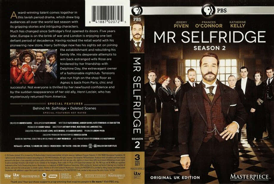 """DVD cover: """"Mr. Selfridge: Season Two."""" Photo: PBS / PBS / ONLINE_YES"""