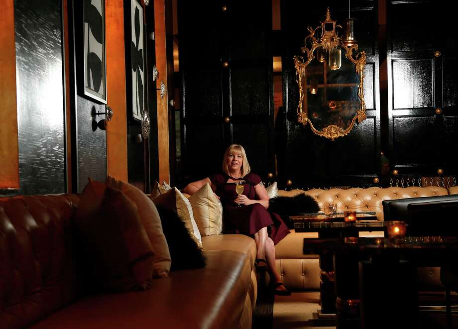 Laurie Sheddan Harvey oversees operations at Sanctuari, the new bar located  inside Triniti restaurant. Photo: Karen Warren, Staff / © 2014 Houston Chronicle
