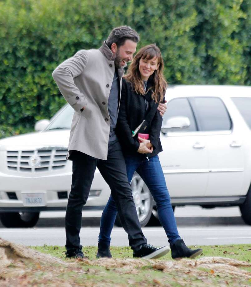 Ben Affleck and Jennifer Garner are seen in Los Angeles on December 11, 2014 in Los Angeles, California. Photo: Bauer-Griffin, GC Images