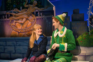 Theater review: 'Elf' makes rough transition from screen to stage - Photo