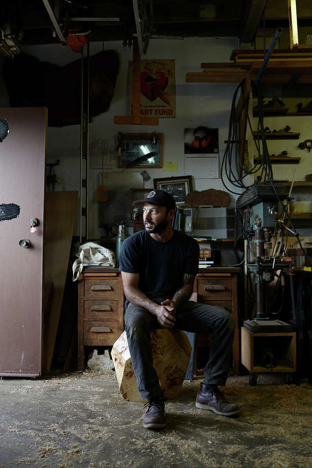 Ido Yoshimoto, woodworker Photo: Daniel Dent / ONLINE_YES
