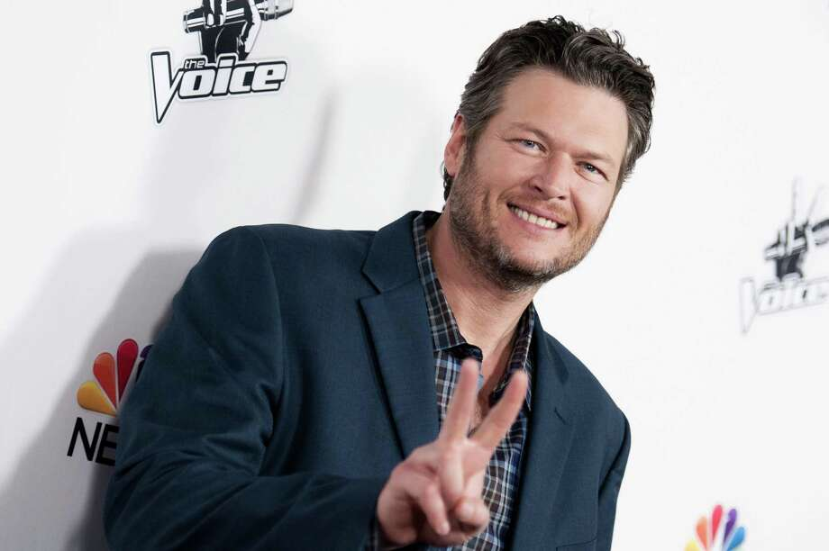 """Blake Shelton arrives at """"The Voice"""" Red Carpet Event on Monday, Dec. 8, in Los Angeles. Photo: Richard Shotwell / Associated Press / Invision"""