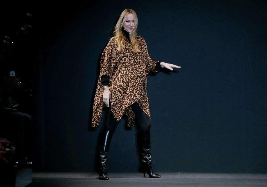 Italian fashion designer Frida Giannini, shown in 2013, is departing Gucci.  Photo: Antonio Calanni, STF / AP