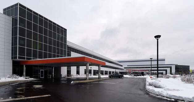 Exterior view of Global Foundries Admin 1 & 2 buildings Friday morning Dec. 12, 2014 in Malta, N.Y.     (Skip Dickstein/Times Union) Photo: SKIP DICKSTEIN / 00029826A