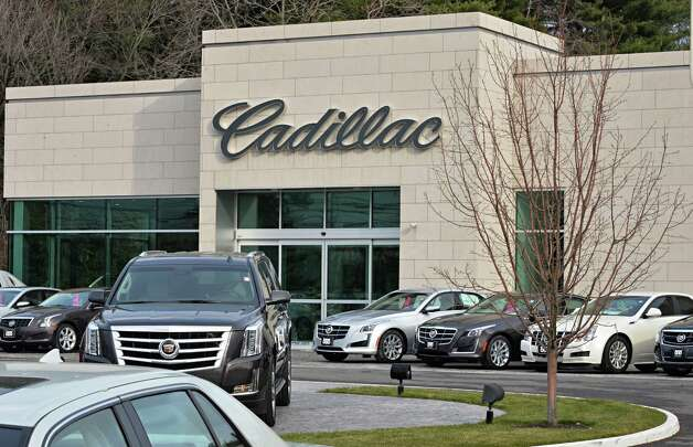 Otto Cadillac on Central Avenue got tax breaks to move down the street to make way for ShopRite in 2012. But the Colonie Industrial Development Agency violated state law by never reporting what the tax breaks were. Thursday Dec. 4, 2014, in Colonie, NY.  (John Carl D'Annibale / Times Union) Photo: John Carl D'Annibale / 00029741A