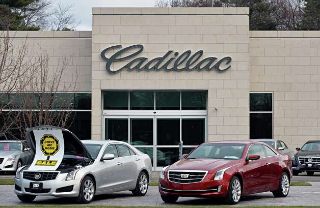 The Colonie Industrial Development Agency gave tax breaks to Otto Cadillac on Central Avenu in 2012. But the amount and what is is for is unknown as the Colonie IDA has flouted state reporting law.  The building is seen on Thursday Dec. 4, 2014, in Colonie, NY.  (John Carl D'Annibale / Times Union) Photo: John Carl D'Annibale / 00029741A