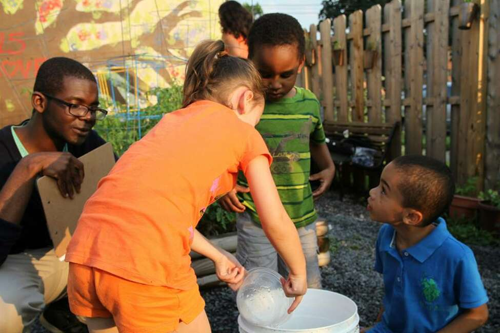 Nearly 75 inner-city youths grew vegetables in a raised bed, organic urban garden and learned how to prepare healthy meals through 15-Love's Healthy Living & Gardening Program, which received a $3,000 grant from the Times Union Hope Fund. (Photo courtesy 15-Love)