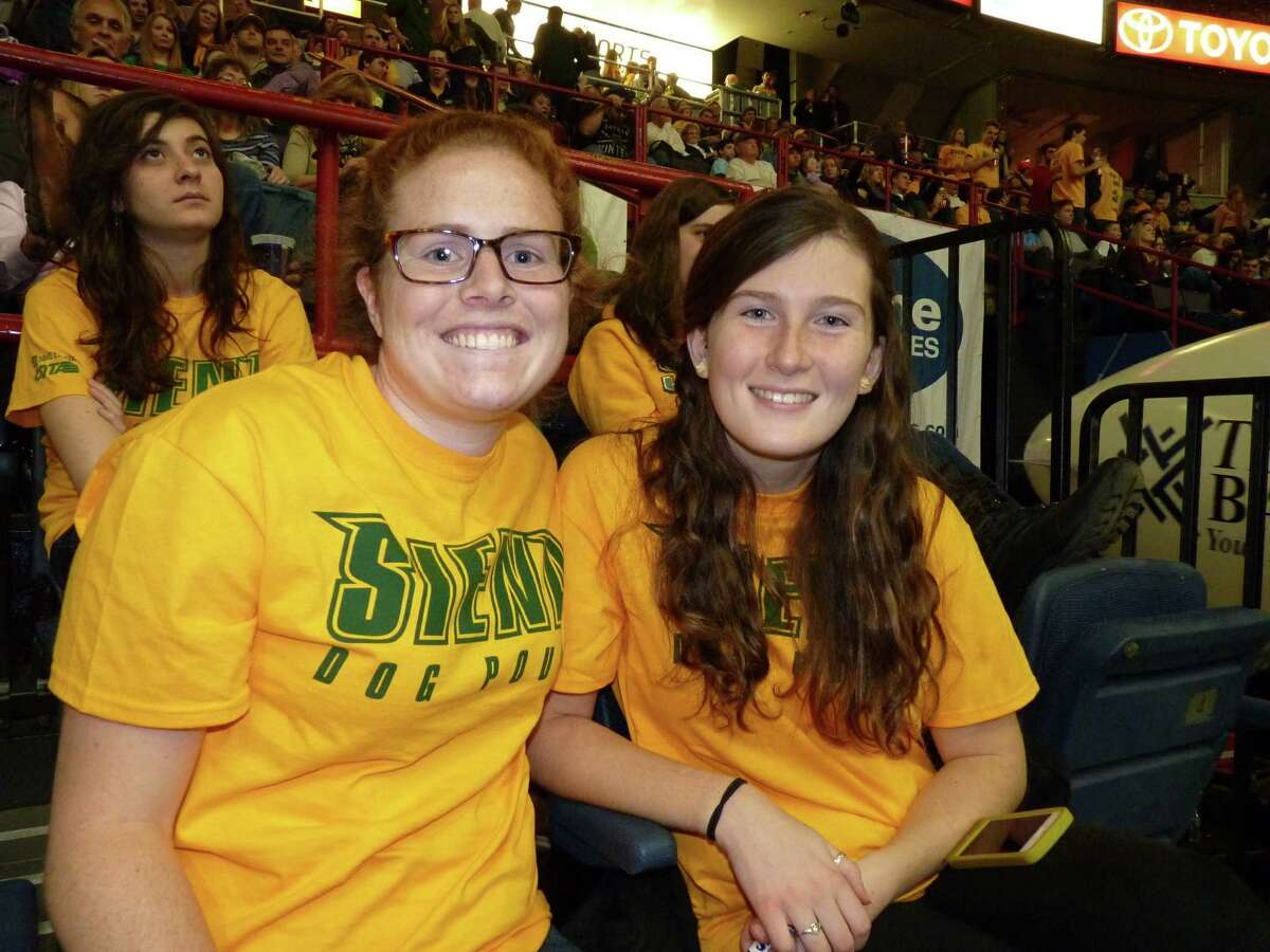 Were you Seen at the UAlbany and Siena College basketball game at the Times Union Center in Albany on Saturday, Dec. 13, 2014?