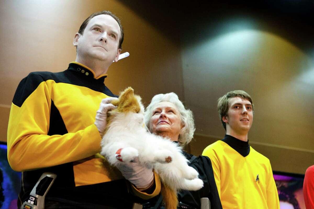 The Star Trek Convention brought in fans across Washington to the Meydenbauer Center in Bellevue on Saturday, Dec. 13, 2014.