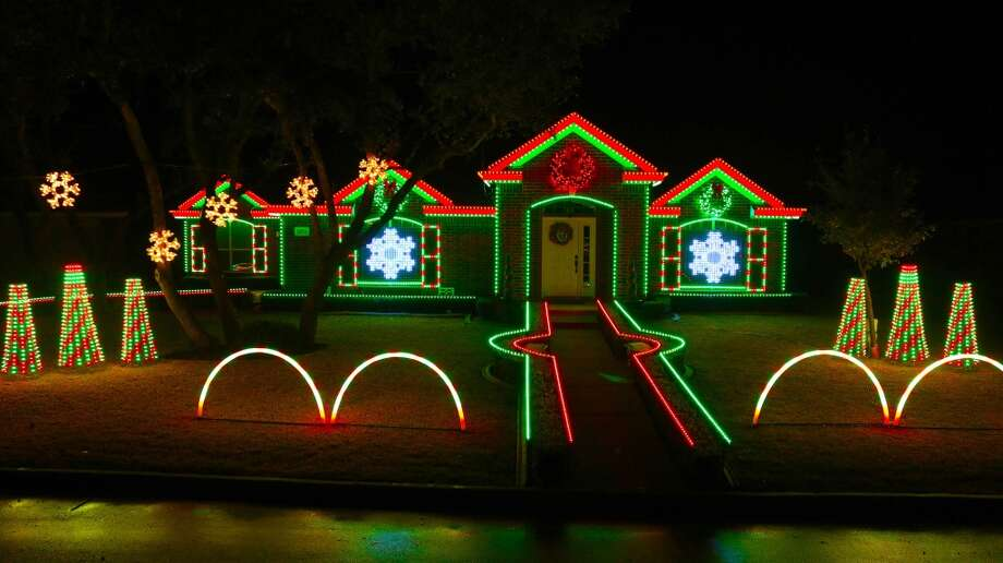 S.A. family and their spectacular light show will be  featured on ABC-TV. Photo: Courtesy