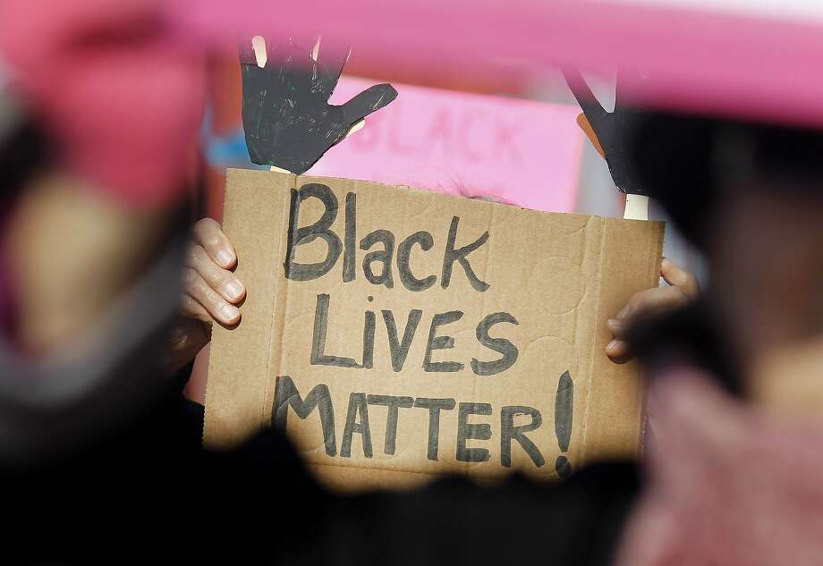 Black Lives Matter activists who developed the Campaign Zero  plan say much work is still needed by all police departments to bring  down the number of killings by law enforcement officers nationwide. Photo: Brant Ward, The Chronicle