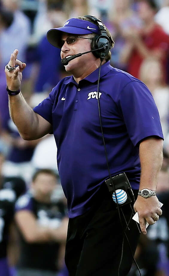 Gary Patterson took an unranked TCU team coming off a losing season and went 11-1. Photo: Brandon Wade / Associated Press / FR168019 AP