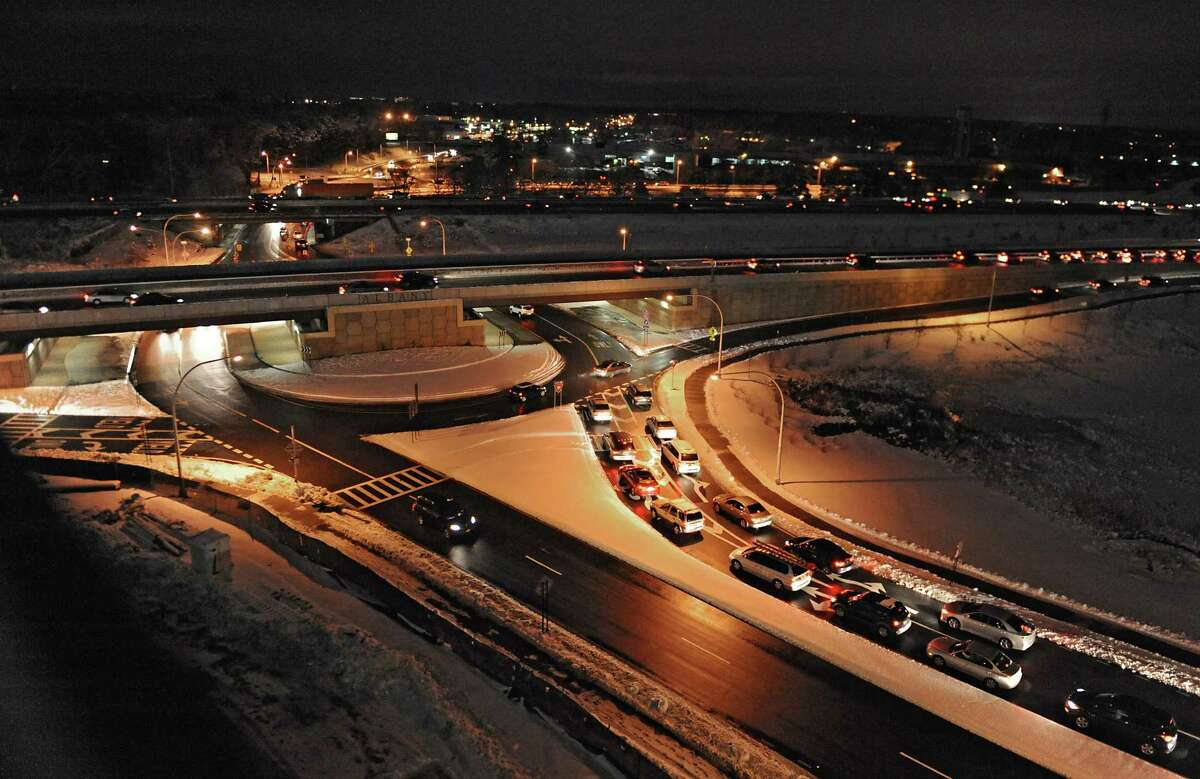 """""""The roundabout at Fuller Road and Washington Ave. is definitely the worst due to design construction. This is due to road design as well as speeding , and puts the individuals exiting Washington Ave going east seriously at risk. There appear to be not only frequent but serious accidents here."""" - Karen Pappis"""