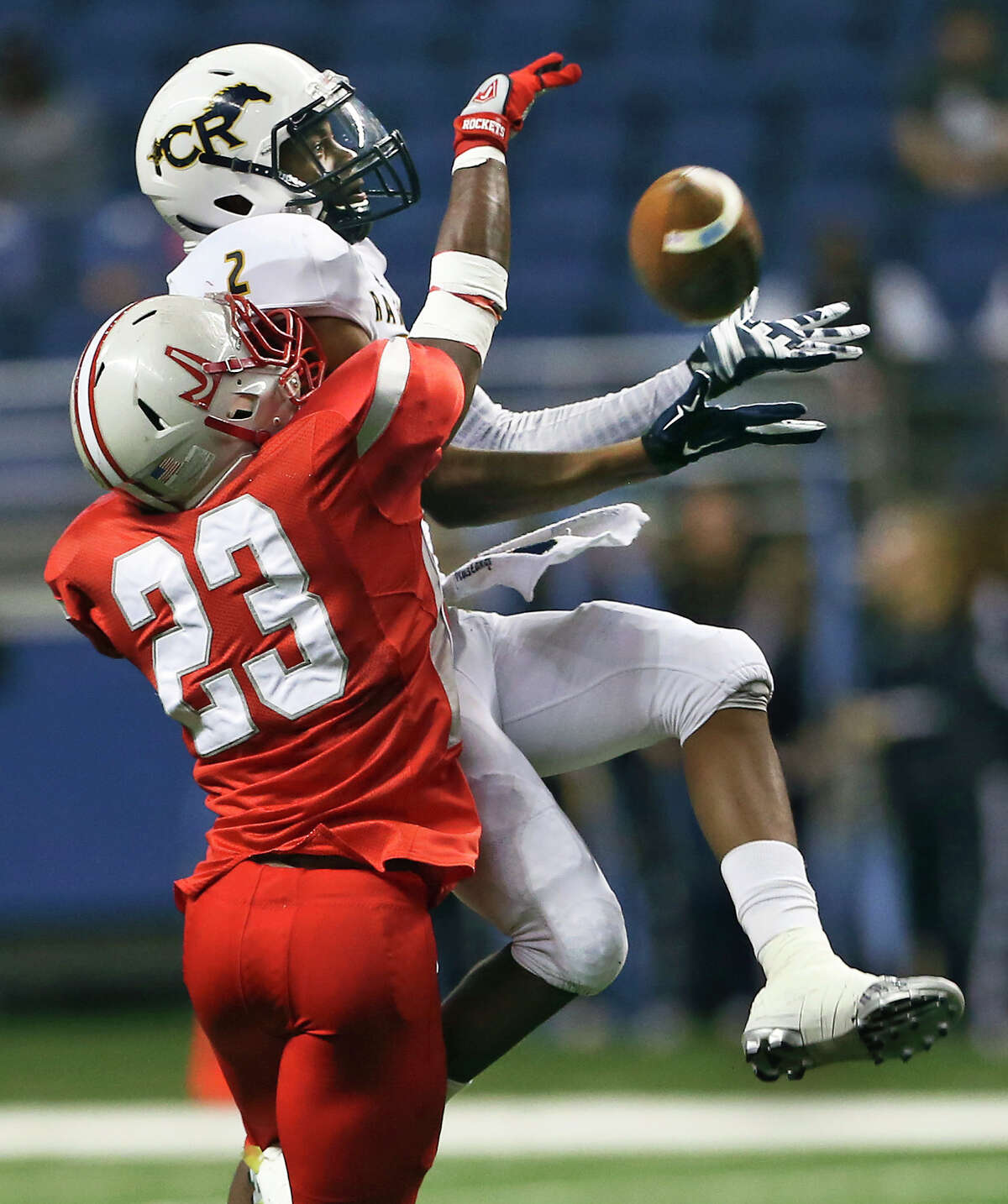 Intriguing match-ups abound this week, but none may be bigger than the one between Katy and Cypress Ranch in the Class 6A Division II bracket. They meet at 7 p.m. Friday at Tully. Both teams played in state championship games last season and have realistic hopes of going far again this season. Cy Ranch (10-1) has won 10 in a row with only one of those victories coming by single digits. The Mustangs once again have a dominant running game led by quarterback Collin Rock, an SMU verbal pledge. But even the best offenses have fallen victim to Katy's powerful defense. The Tigers (11-0) have given up 18 points all season. They have shutout their last five opponents.