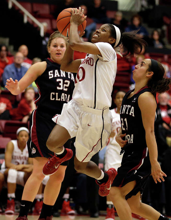 Stanford's Briana Roberson, who had 21 points against UCLA on Jan. 23, is averaging 11.8 points over her past five games. Photo: Ben Margot / Associated Press / AP