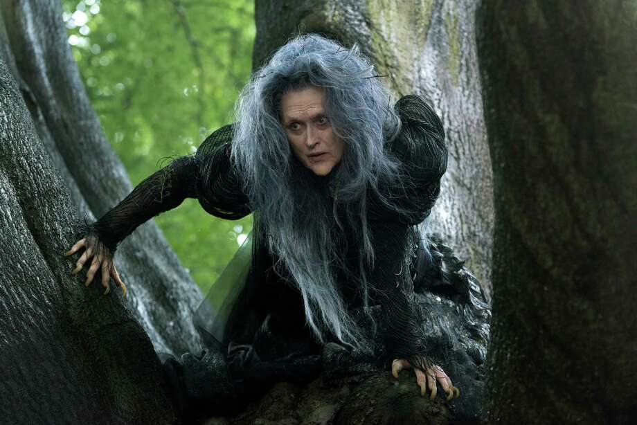 "Meryl Streep stars in ""Into the Woods."" Photo: Peter Mountain / Associated Press / Disney Enterprises, Inc."