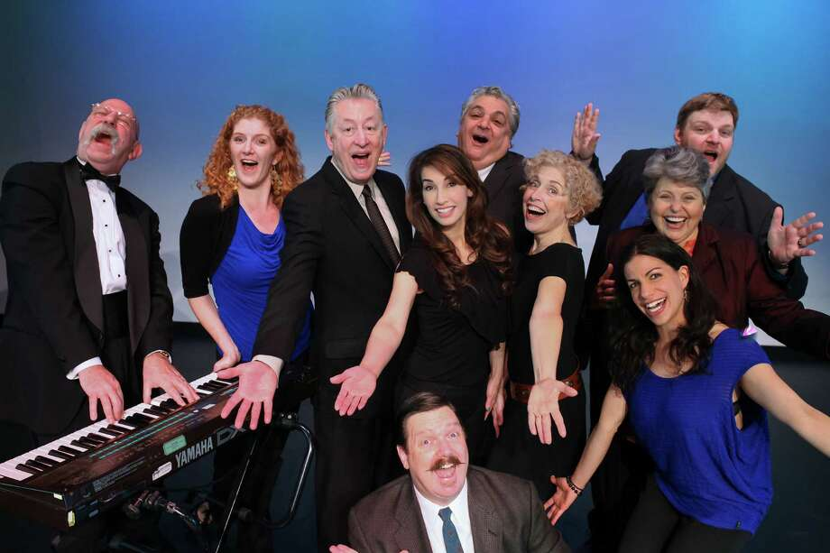 """The BATS Improv company creates an original musical for """"Improvised Holiday Musical."""" Photo: Stephanie Pool / ONLINE_YES"""