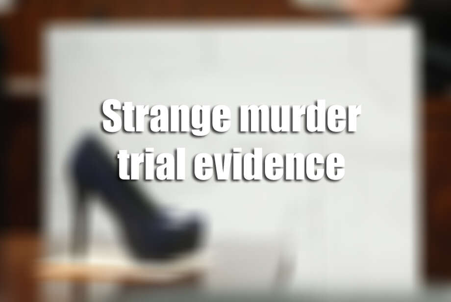 From candy rappers to high heels, these are the strangest and most macabre pieces of evidence ever presented in court. Photo: Houston Chronicle