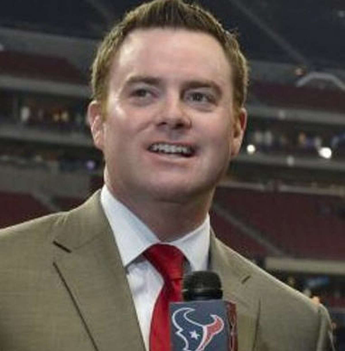 """Drew Dougherty from Houston Texans TV """"My favorite toy was my BMX bike when I was a 1st grader. I'd worn the tires off my first bike from skidding out too much, so this was an upgrade. I was also pumped when I got Tecmo Bowl in 6th grade."""""""