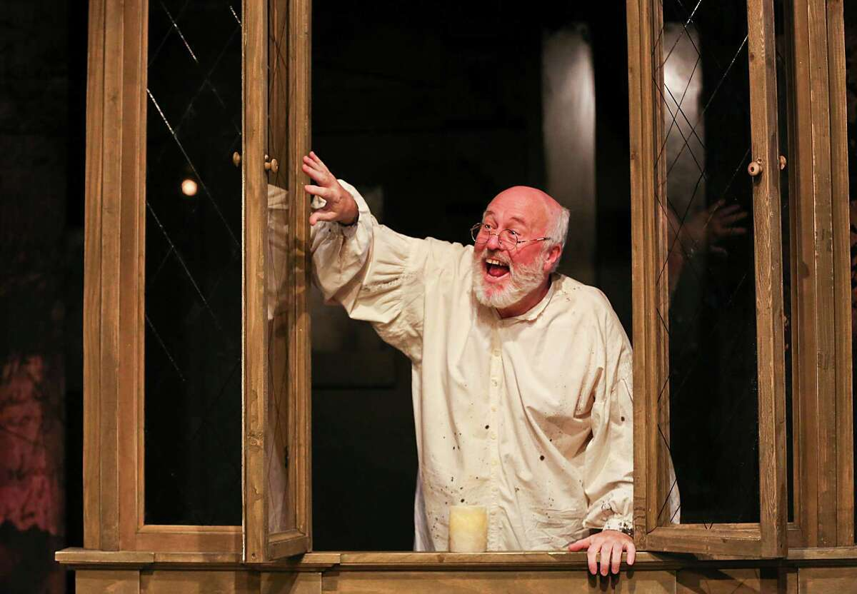 James Belcher stars as Scrooge in the Classical Theatre Company's