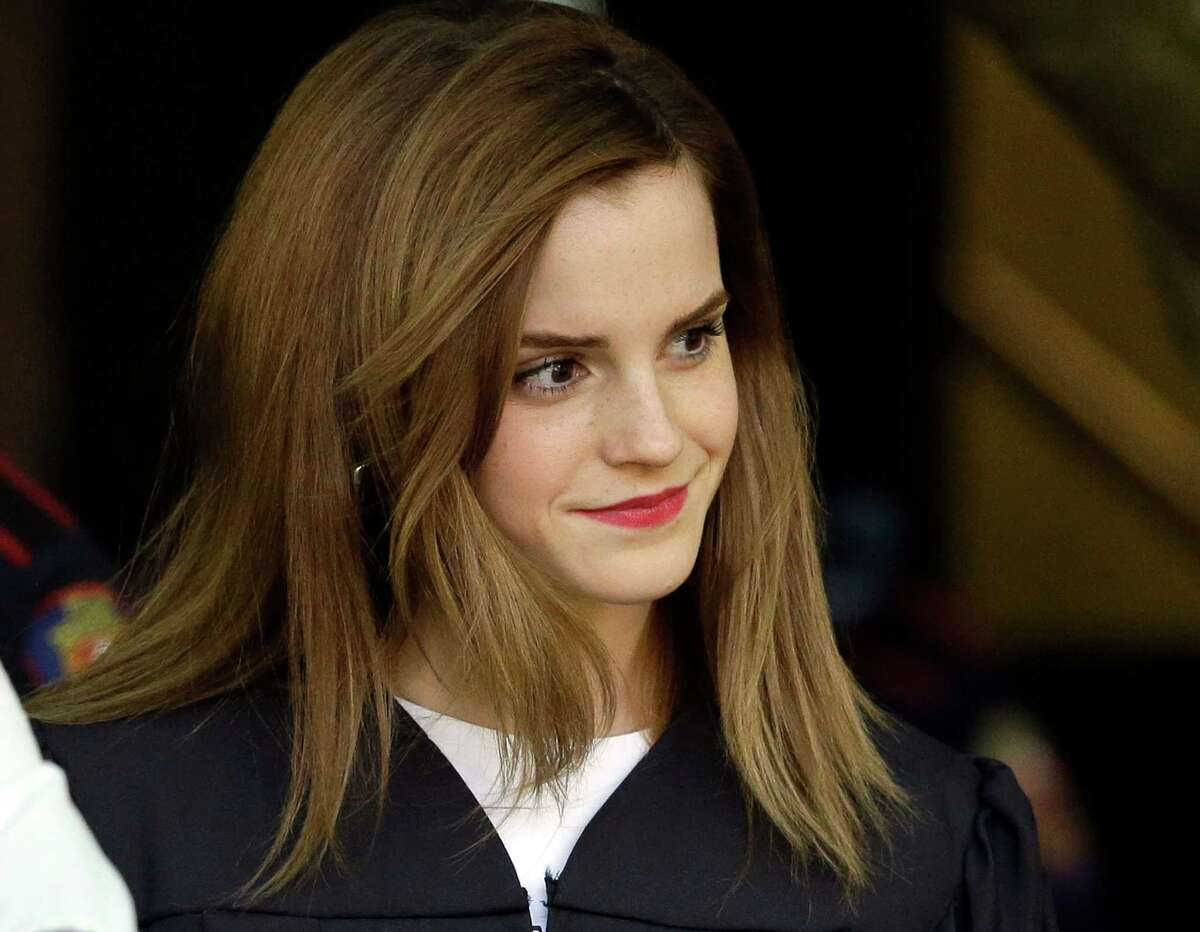 Emma Watson The actress of Harry Potter fame delivered a passionate speech during the HeForShe event at the United Nations headquarters.