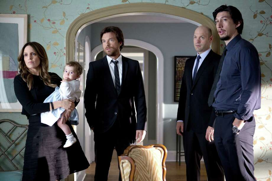 "This photo released by Warner Bros. Pictures shows, from left, Tina Fey as Wendy Altman, Jason Bateman as Judd Altman, Corey Stoll as Paul Altman, and Adam Driver as Phillip Altman, in a scene from the film, ""This Is Where I Leave You."" (AP Photo/Warner Bros. Pictures, Jessica Miglio) Photo: Jessica Miglio, HONS / Associated Press / Warner Bros. Pictures"