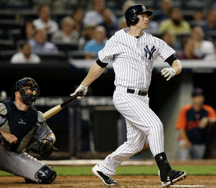 Chase Headley came to the Yankees in a mid-season trade with the Padres, then became a free agent at season's end. Photo: Kathy Willens / Associated Press / AP