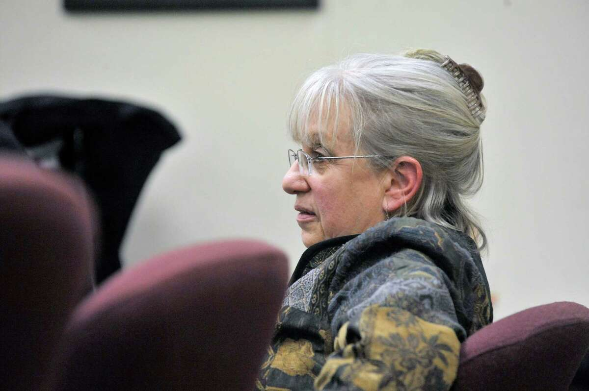 Risa Sugarman takes part in a meeting of the Board of Elections on Monday, Dec. 15, 2014, in Albany, N.Y. (Paul Buckowski / Times Union)