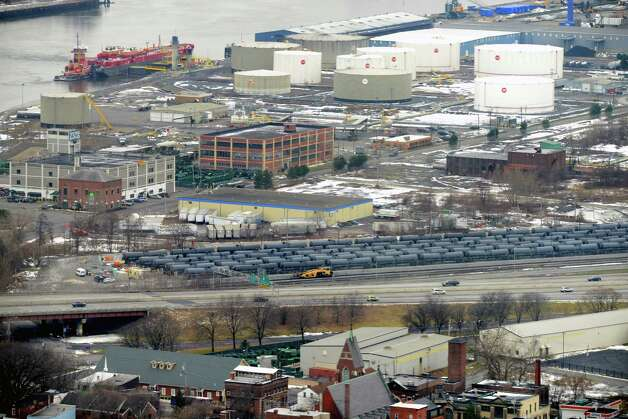 Port of Albany is viewed from Corning Tower Monday afternoon, Dec. 15, 2014, in Albany, N.Y. (Will Waldron/Times Union) Photo: WW