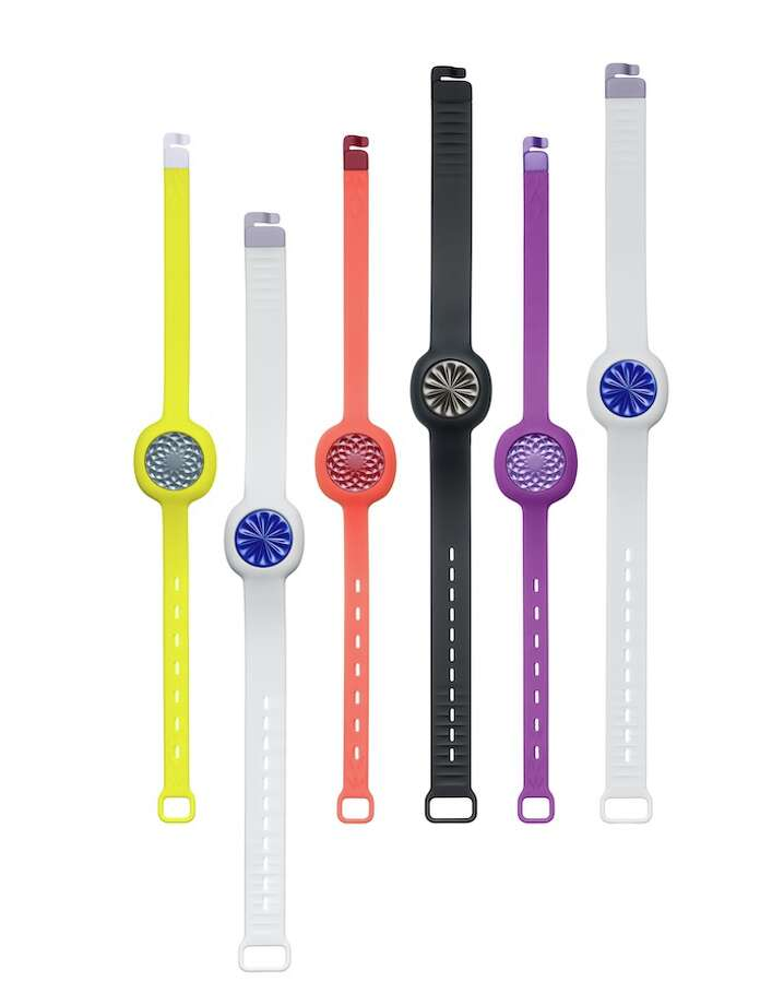 """Jawbone Up Move Jawbone's Up Move tracks steps, exercise, calories burned, hours of sleep and sleep quality. It comes with a """"Smart Coach"""" that pushes users to hit personal challenges throughout the day. Up Move can be clipped on or strapped around a wrist. Up Move comes in five colors. The strap comes in three five colors and two widths. Price: $49.99 Photo: Jawbone"""
