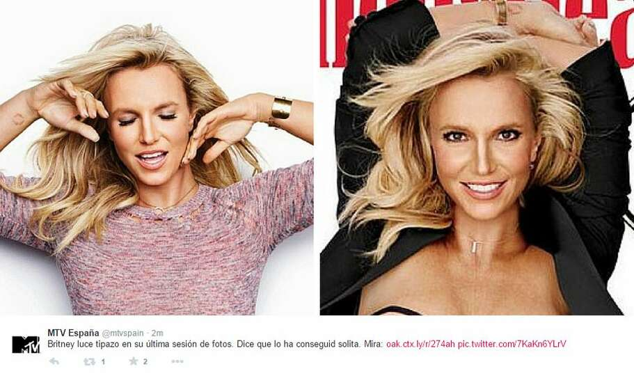 Britney Spears looks virtually unrecognizable on the cover of this month's issue of Women's Healt