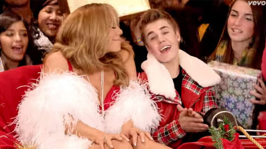 """All I Want For Christmas Is You,"" by Mariah Carey & Justin Bieber Photo: YouTube"