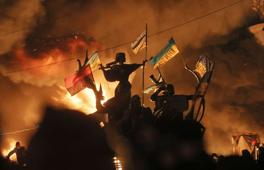 Trending on Google in the United States: 10. UkraineFrom bloody riots to backlash from Moscow, Ukraine dominated the headlines earlier in 2014. Photo: Efrem Lukatsky, Associated Press