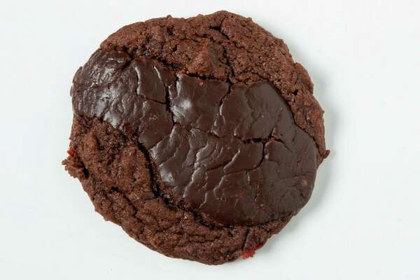 Chocolate Cherry Cookie, submitted by JoAnn Petersen, is shown in the Chronicle Studio on Tuesday, Dec. 9, 2014, in Houston. ( Brett Coomer / Houston Chronicle )