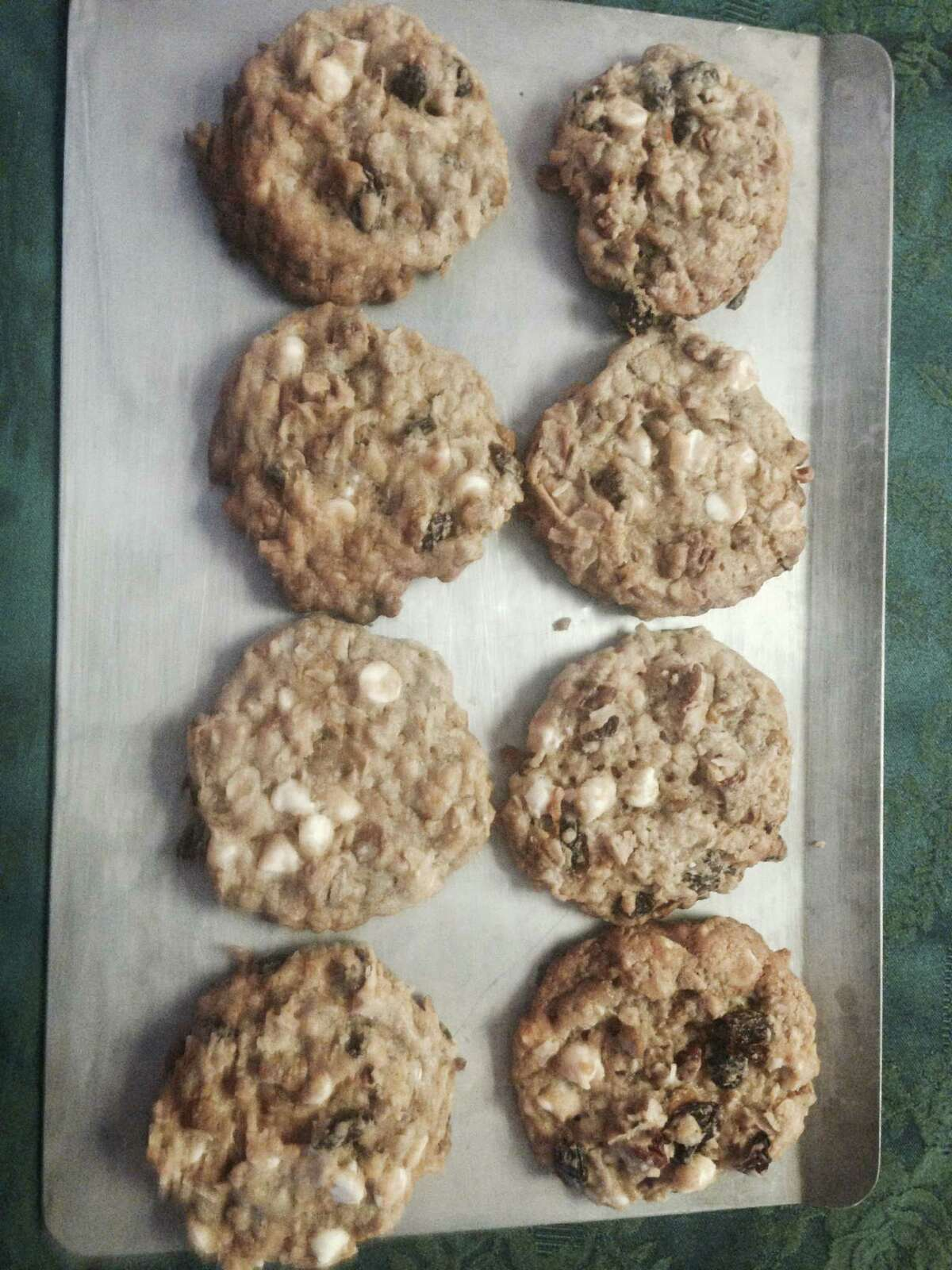 The building-block ingredients of many holiday cookies include nuts, chocolate chips, vanilla and flour. Judging this year's recipe submissions were Flavor editor Diane Cowen, food editor Greg Morago and Kitchen to Kitchen writer Elizabeth Pudwill.