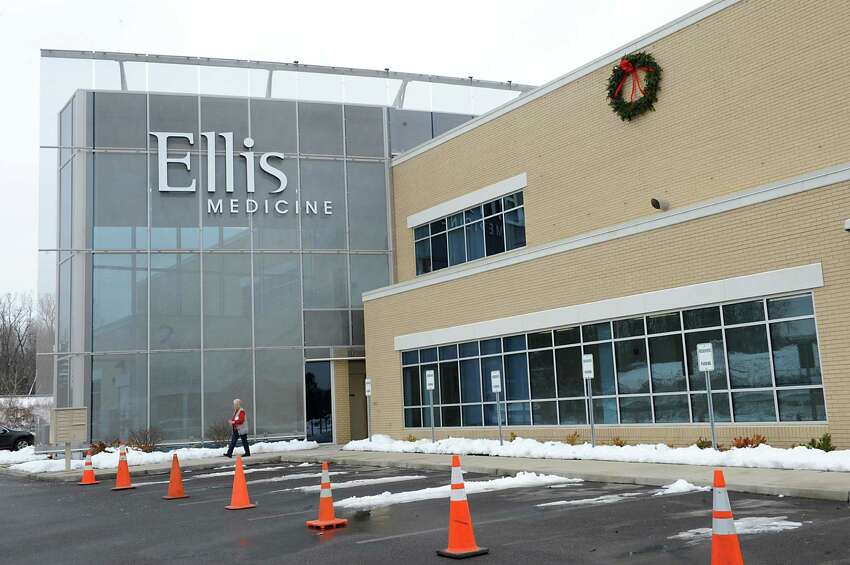 Exterior of Ellis Medicine on Tuesday, Dec. 16, 2014 in Clifton Park, N.Y. Someone blew out windows at the Medical Center over the weekend. Nobody was hurt in the incident. (Lori Van Buren / Times Union)
