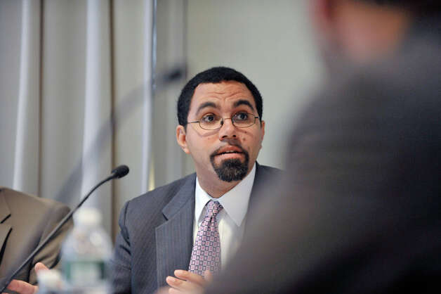 New York State Education Commissioner John King takes part in a Board of Regents meeting at the State Education building on Monday, Dec. 15, 2014, in Albany, N.Y.  (Paul Buckowski / Times Union) Photo: Paul Buckowski, Albany Times Union / 00029860A