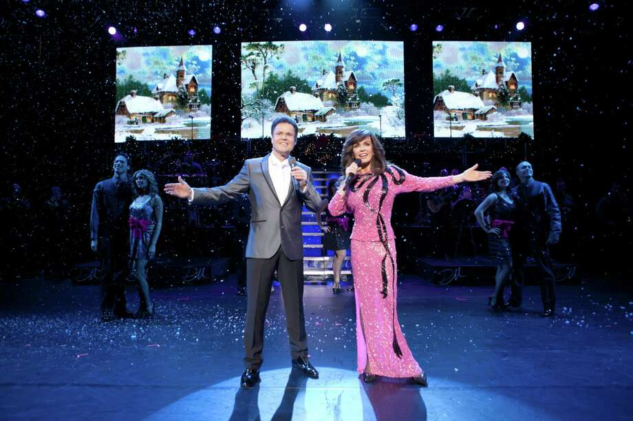 Donny and Marie: Christmas at Foxwoods is scheduled for Saturdsay and Sunday, Dec. 27 and 28, at Foxwoods Resort Casino. Photo: Contributed Photo, Contributed Photo / Connecticut Post Contributed